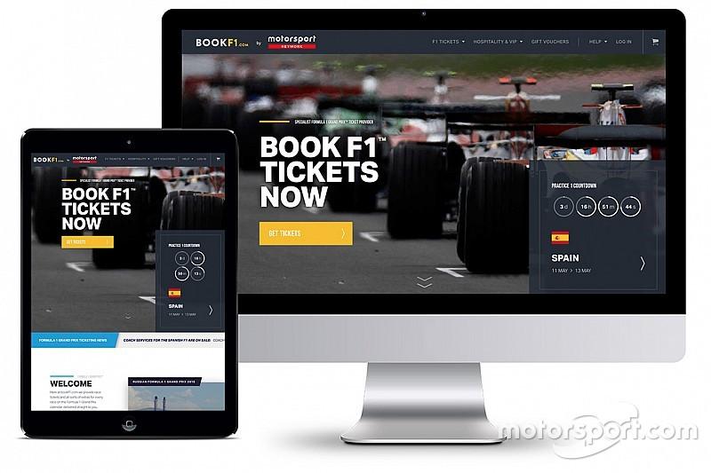 Motorsport Network выходит на глобальный билетный рынок с BookF1.com