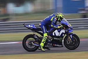 MotoGP Reaktion Denkmal auch ohne Sieg: Rossi startet nicht in den Top 10