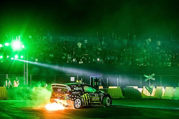Egyéb autósport Motorsport.com hírek Füst, lángok, és persze Ken Block: gigagaléria a GYMKHANA Gridről