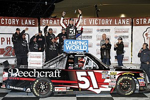 NASCAR Truck Race report Kyle Busch takes 50th NASCAR Truck win at home in Las Vegas