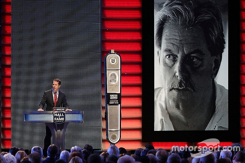 Robert Yates reflects on Hall of Fame career with posthumous speech