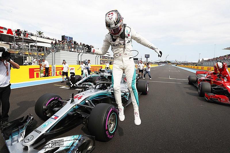 Хэмилтон выиграл квалификацию Гран При Франции