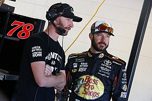 NASCAR Cup Preview Truex doesn't mind pressure of being title favorite: