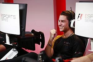 eSports Son dakika Cem Bölükbaşı Formula 1 eSports elemelerini galibiyetle tamamladı!