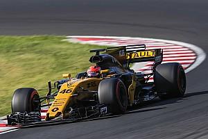Fórmula 1 Crónica de test Kubica logró el cuarto mejor tiempo en Hungría