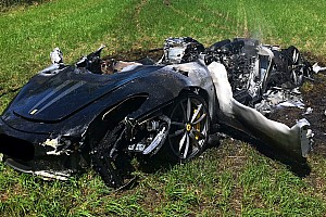 Automotive Breaking news New Ferrari F430 Scuderia owner crashes after only one hour