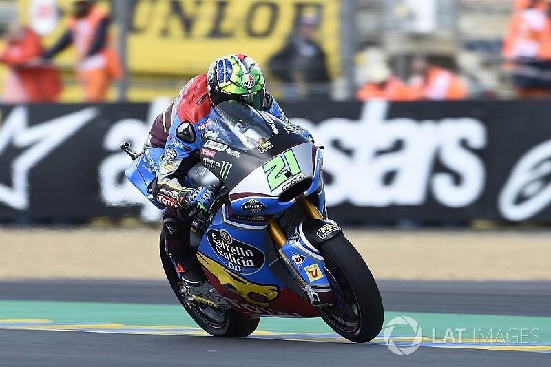 【Moto2】フランス決勝:モルビデリ今季4勝目。中上11台抜きの7位