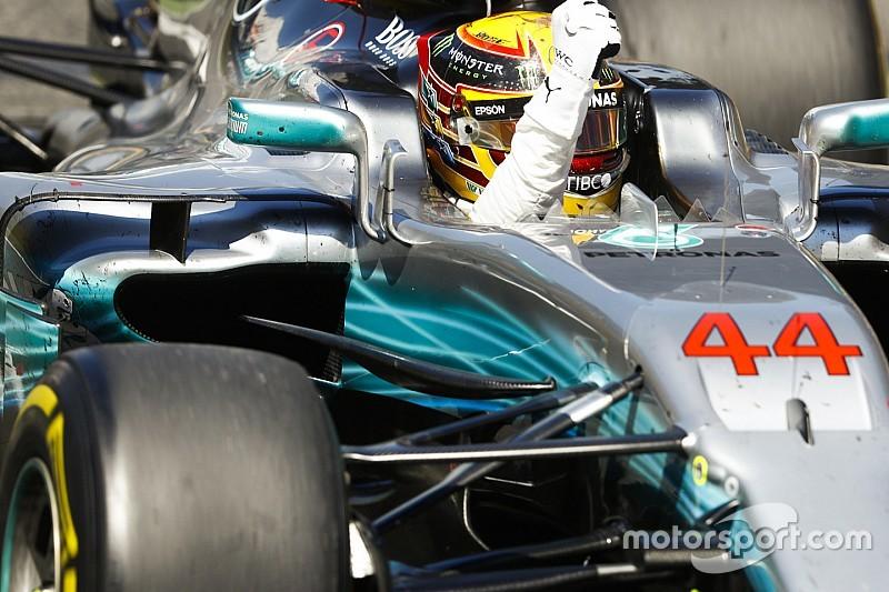 Hamilton se acerca el récord de Senna y pasa a Clark