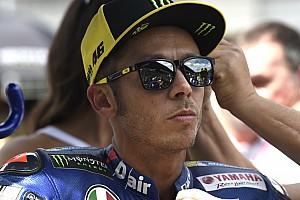 Valentino Rossi lamenta mucho su accidente