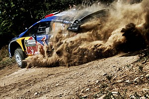 WRC Breaking news Ogier escapes injury after hitting tree in Finland test shunt