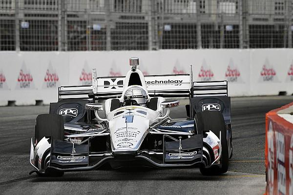 Пажено впервые в сезоне завоевал поул на этапе IndyCar