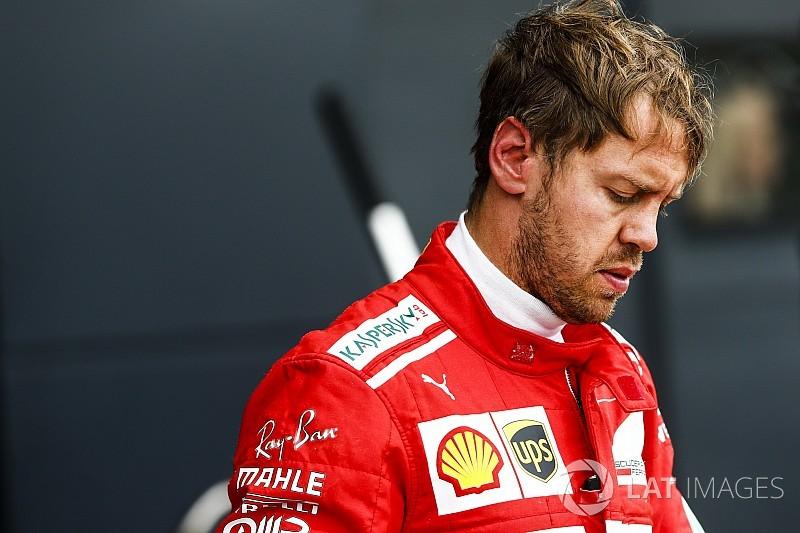 【F1】ベッテル、ポールのハミルトンに白旗「勝つチャンスなかった」