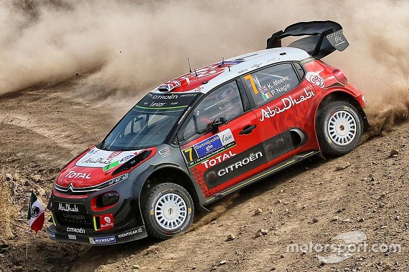 WRC Rallye Mexiko: Kris Meeke siegt nach Drama auf Powerstage