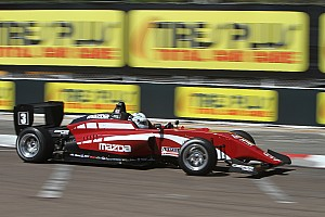 USF2000 Race report St Pete USF2000: Askew scores first win as Thompson falters
