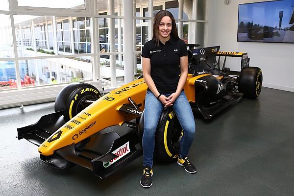 Formula 1 Breaking news Female karting ace Garcia joins Renault junior programme