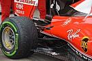 Técnica: Tomas de freno trasero y deflector del fondo del Ferrari