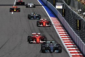 Fórmula 1 Noticias En 2017 hubo menos rebases en las carreras de F1