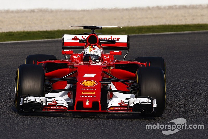 F1-Test Barcelona: Ferrari überrascht mit neuer Bestzeit 2017, McLaren steht
