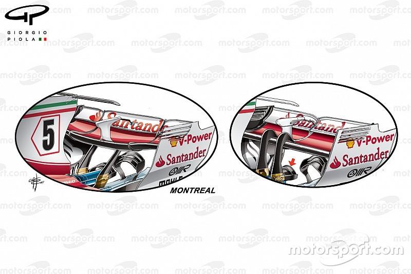 Analisi tecnica: ecco la Ferrari a medio carico del GP di Canada
