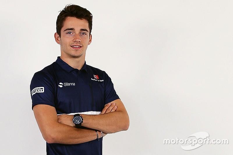 Leclerc vier keer in actie voor Sauber in vrije trainingen F1