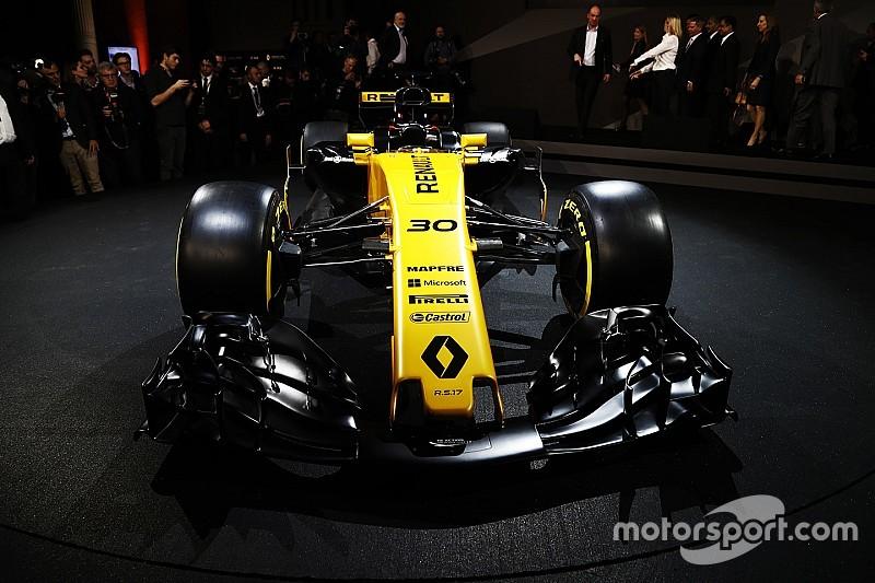 雷诺发布2017年F1赛车,目标年度前五名