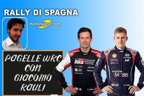 Pagelle WRC: Ogier e Tanak (ancora) dietro la lavagna