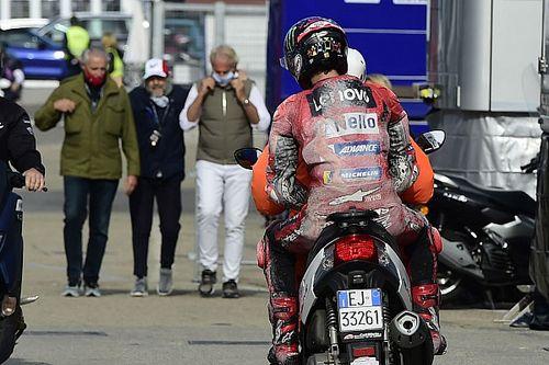"""Rossi: """"Ho ipnotizzato Pecco, ma ha messo la dura lo stesso"""""""