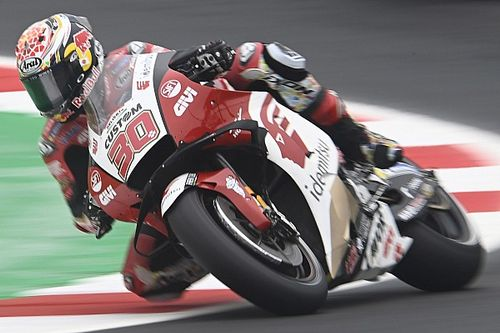 Hasil Warm Up MotoGP Emilia Romagna: Takaaki Nakagami Ungguli Duo Ducati