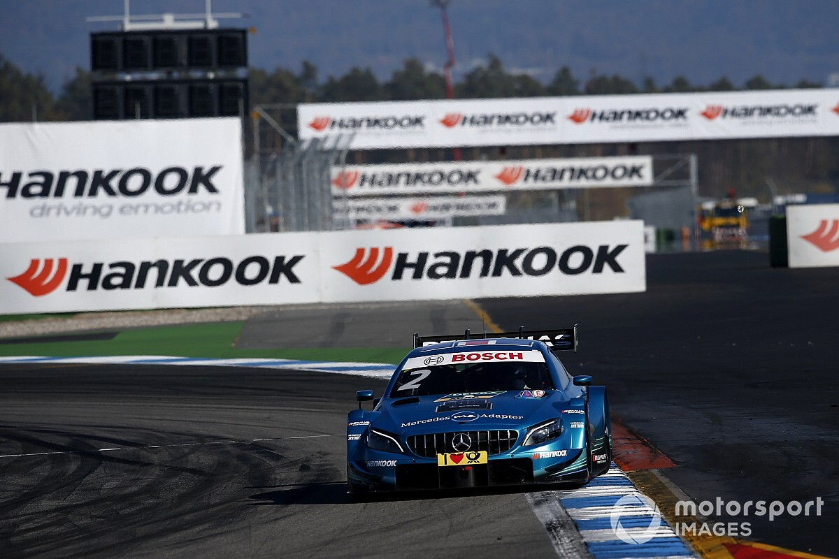 Paffett suffered loose wheel scare in title-decider