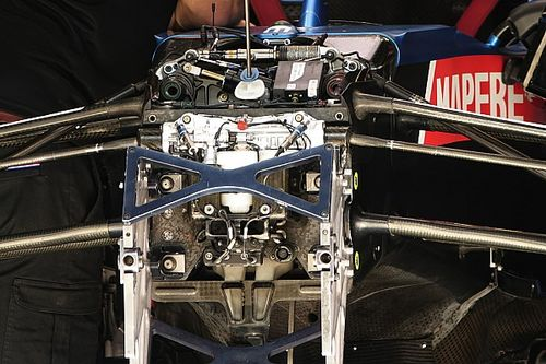 Formel-1-Technik: Detailfotos beim Steiermark-Grand-Prix 2021