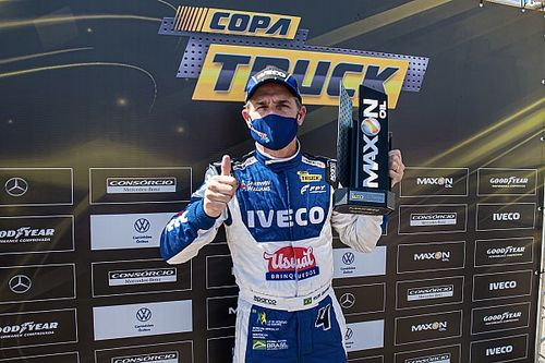 Felipe Giaffone conquista a pole em Goiânia pelo segundo ano consecutivo na primeira etapa da Copa Truck