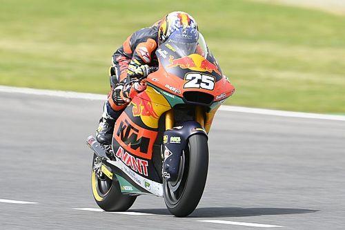 Moto2 Barselona 1. antrenman: Augosto Fernandez, takım arkadaşı Lowes'un önünde ilk sırada