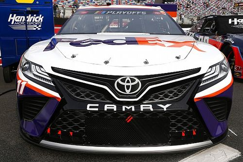 "Denny Hamlin ""encouraged"" with Las Vegas run but wants more"