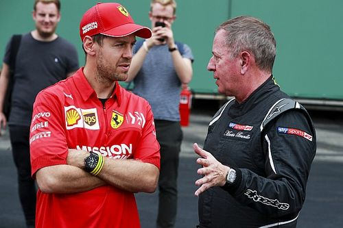 Brundle debunks Vettel interview conspiracy theory