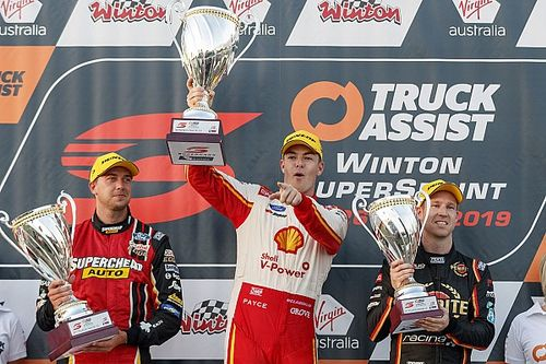 Winton Supercars: McLaughlin wins after shortcut controversy