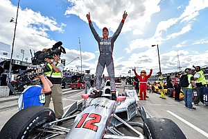 IndyCar Race report Power wins in Detroit for Penske, Chevy… and himself