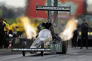 NHRA Race report Brittany Force clinches Top Fuel in strange Brainerd final