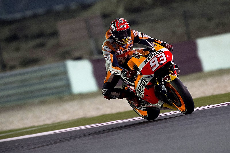 Podium finish for Marquez in Qatar, Pedrosa fifth
