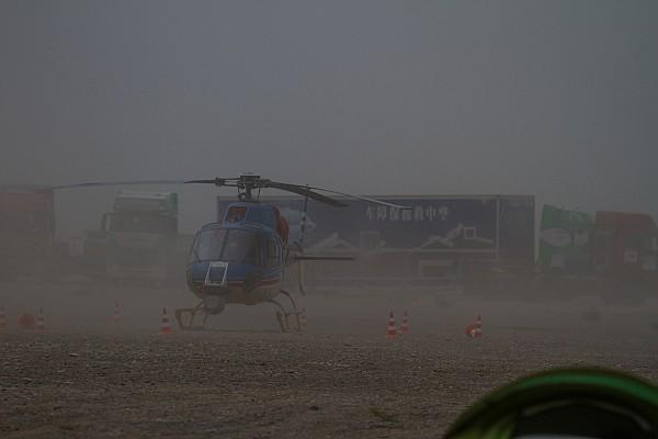 """11-й этап """"Шёлкового пути"""" отменен из-за песчаной бури"""