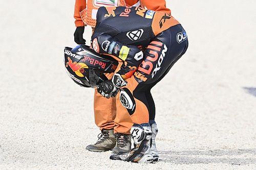 Miguel Oliveira 'desapareció' cuando estaba luchando por el podio
