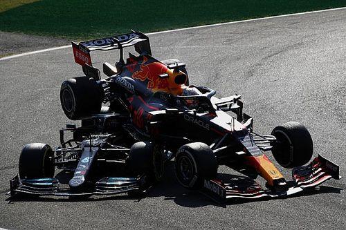 Por qué la FIA no sancionó igual a Verstappen en Monza que a Hamilton en Silverstone