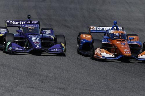 Яркие обгоны принесли Грожану очередной подиум в IndyCar