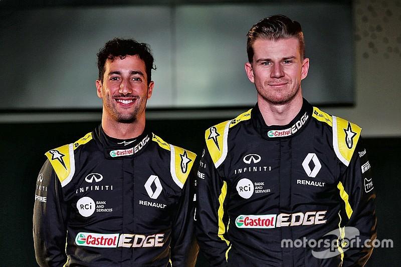 Ricciardo et Hülkenberg