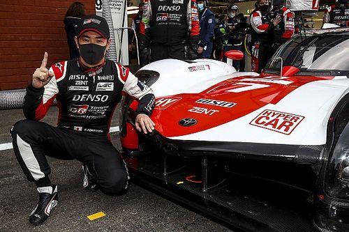 Spa WEC: Toyota, hiper aracıyla ilk pole pozisyonunu Kobayashi ile kazandı