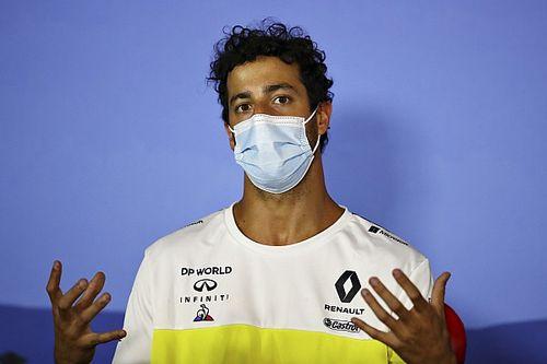 里卡多膝盖擦伤后被准许继续参赛