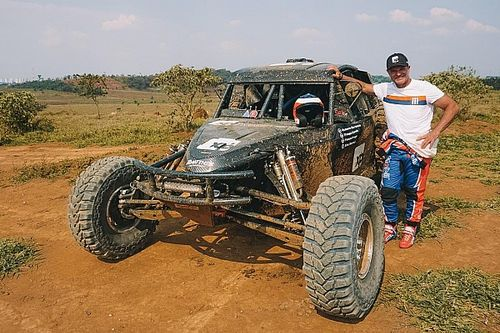 Barrichello, Camilo e Fraga treinam na preparação para o Sertões