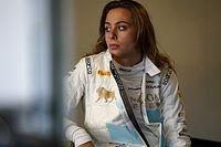 Российский пилот и единственная гонщица Ф3 столкнулись в воскресной гонке