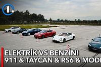 DRAG | Tesla Model S vs Porsche Taycan vs Audi RS6 vs Porsche 911 Turbo