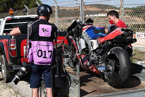 Los sobrecogedores datos de la caída de Martín: entre las más fuertes de MotoGP