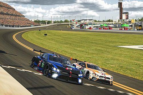 Verstappen valt met schade uit in virtuele 24 uur van Daytona